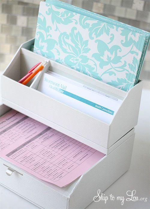 Pin by brenda f on organizing pinterest - Martha stewart desk organizers ...