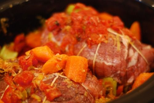 Slow Cooker Pork Pot Roast | RECIPES | Pinterest