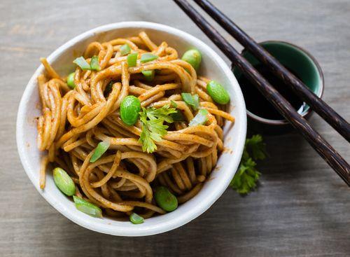 Simple Sesame Noodles | Asian Delight | Pinterest
