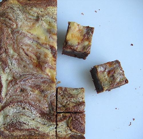 Cheesecake Marbled Brownies | Brownies & Bars | Pinterest