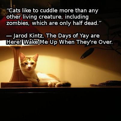 #ZombieQuote from #JarodKintz: