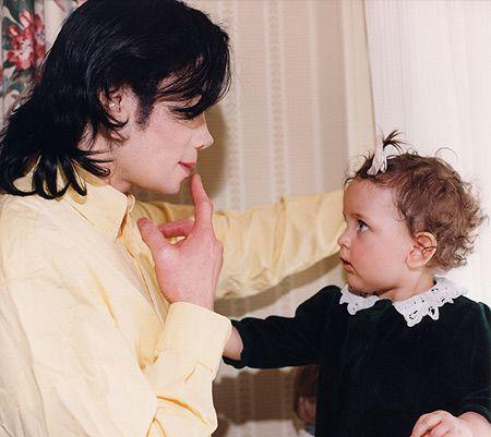 Michael and Paris. So sweet!