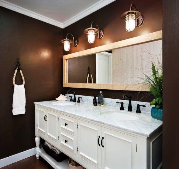 Luxury Beach Themed Bathroom Mirrors