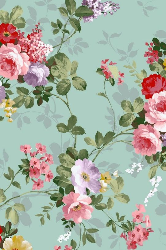 floral iphone wallpaper prints patterns pinterest