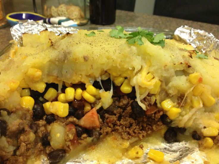 Mexican Shepherd's Pie | my new life style | Pinterest