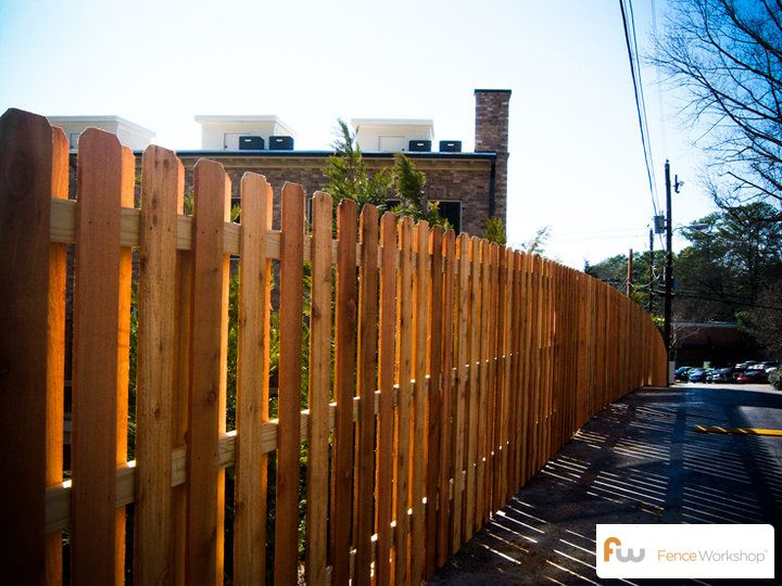 Simple Wood Fence Designs : Simple Wood Fence Designs : Good Neighbor Wood Privacy Fence