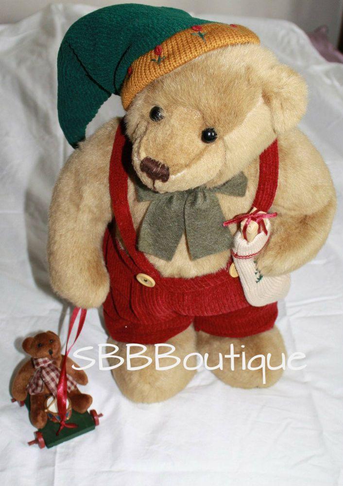 Cute teddy bear christmas