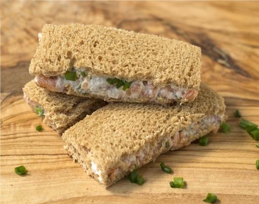 Smoked Salmon Tea Sandwich | Tea Parties | Pinterest