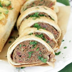 Mini Tex-Mex Meatloaf Burritos Top 30 Southwestern Dinner Recipes Of ...