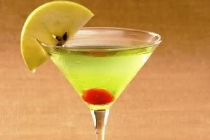Green Apple Martini | Recipes to try | Pinterest