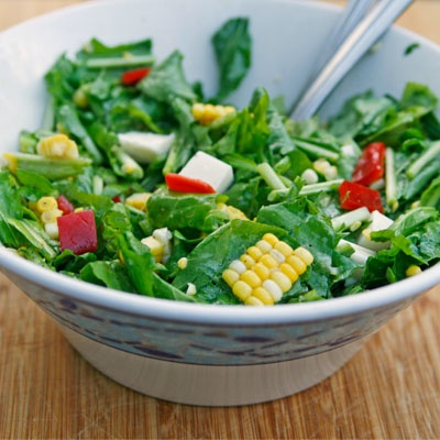 Arugula, Corn and Pepper Salad: An Easy Late Summer Salad | Recipe