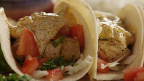 ... amazing! Grilled Fish Tacos with Chipotle Lime Dressing Allrecipes.com