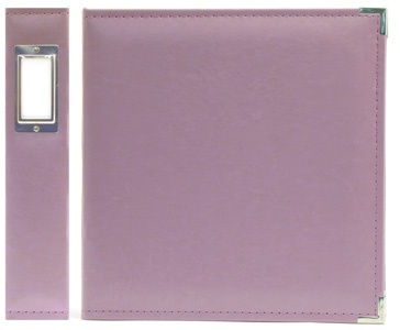 We R Memory Keepers - Classic Leather - 8.5x11 - Three Ring Albums - Lilac at Scrapbook.com $22.99