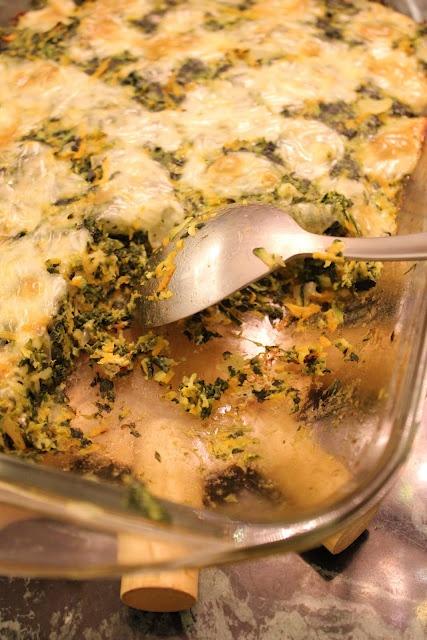 Garlicky Spinach Zucchini Carrot Gratin | My recipes | Pinterest