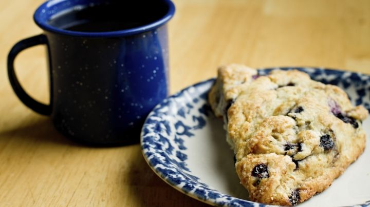 Blueberry & Almond Scone | Good eats | Pinterest