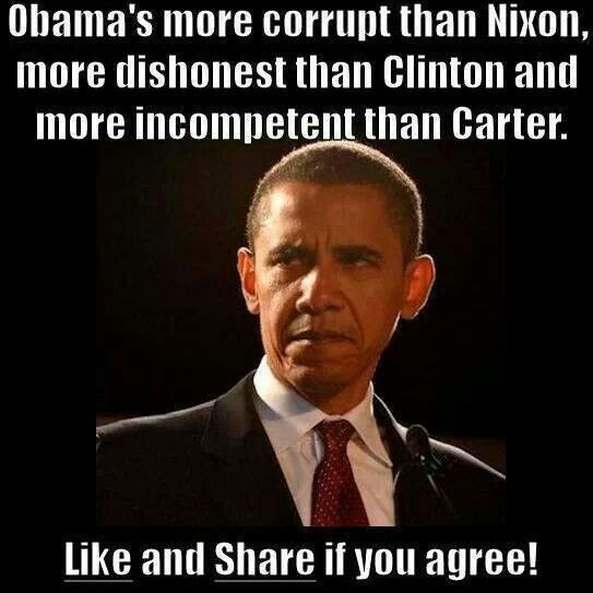 Obama -corrupt liar in chief