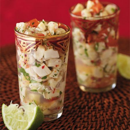 Scallop Ceviche | EATS | Pinterest
