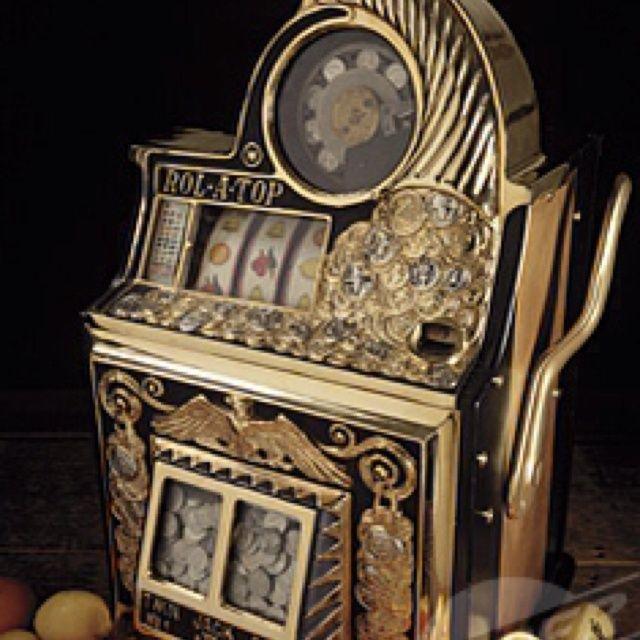 Vintage Slot machine | Arcade, Billiards & Games | Pinterest