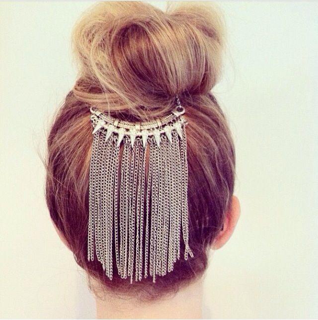 Bun jewellery