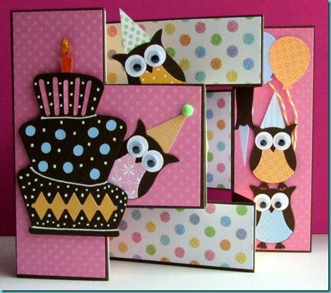 Tri shutter birthday card
