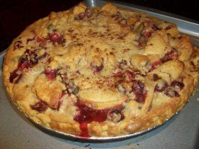 Cranberry Apple Pie/Cranberry Nut Cake | Yummy goodness 2 | Pinterest