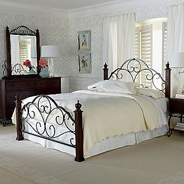 bedroom set canterbury jcpenney furniture shopping pinterest