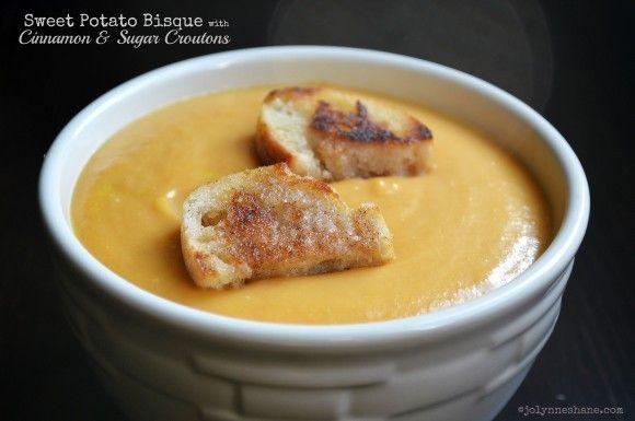 Sweet Potato Bisque. | Yummy stuff - Soups | Pinterest