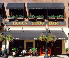hugo 39 s frog bar and fish house chicago vacation pinterest