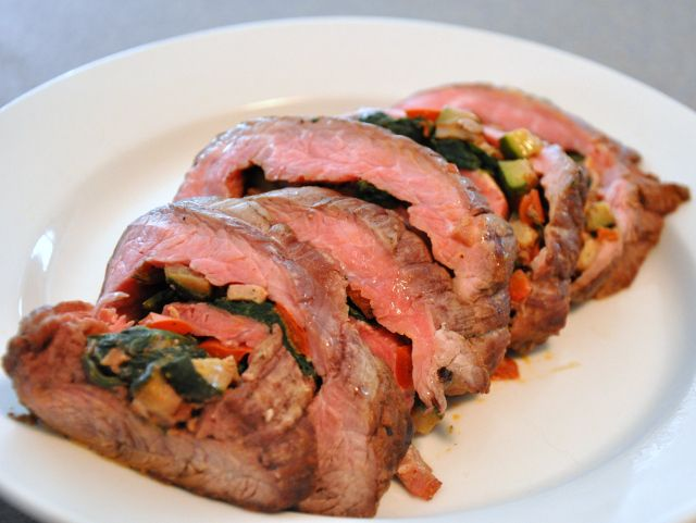 Dave Wendel's Flank Steak Roulade | Almond Butter Binge | Pinterest