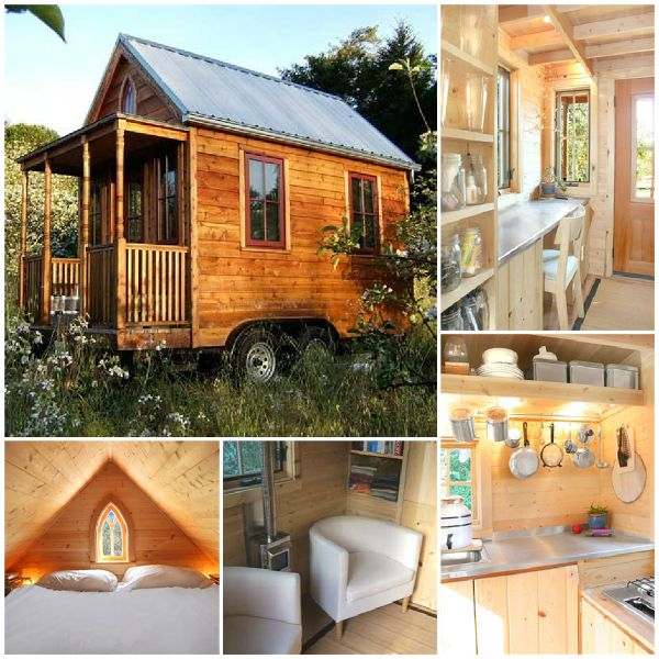 Wooden wagon inside n out tiny houses pinterest for How to build your own tiny house on wheels