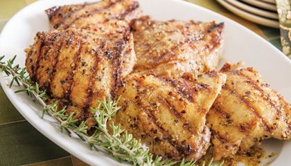 Herb-marinated Chicken Thighs | Glorious Food | Pinterest