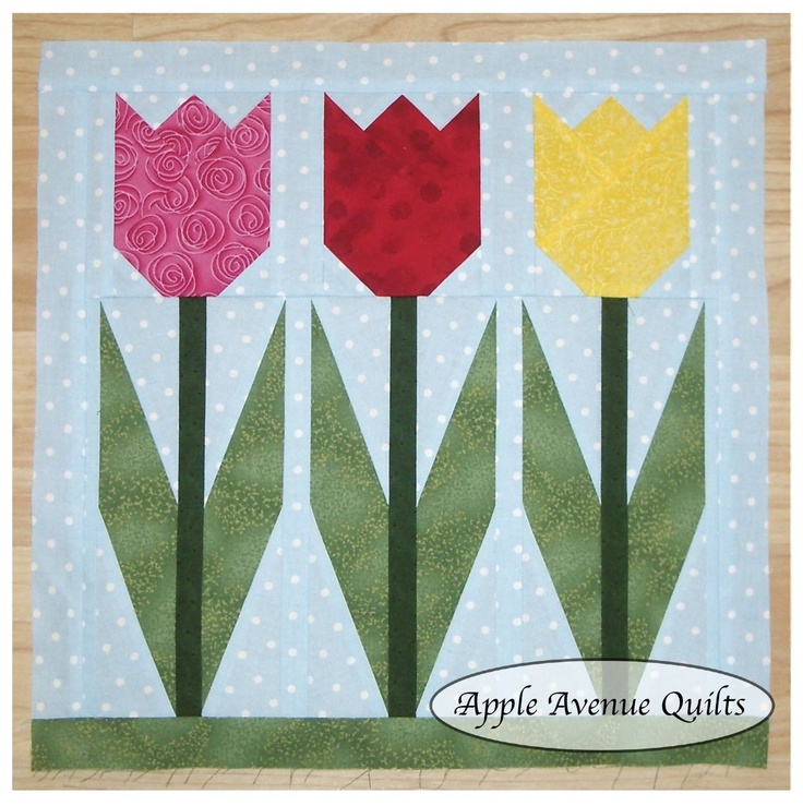 Tulip Quilt Block Pattern Free Cafca Info For