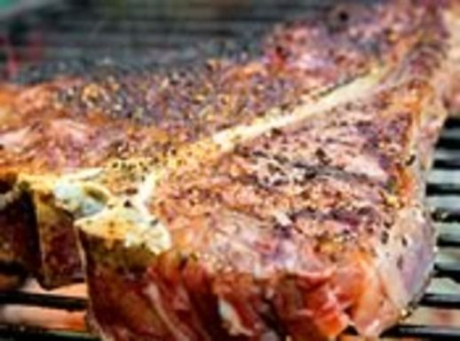 Grilling: Porterhouse Steak with Blue Cheese Butter | Recipe