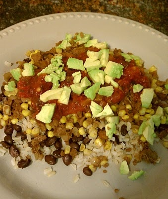 Mexican Veggie Burger, Rice and Beans | Vegan and GF | Pinterest