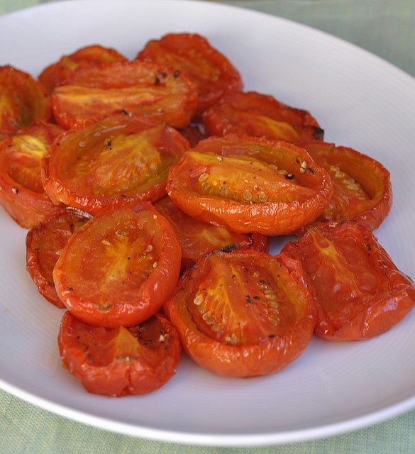 simple slow-roasted tomatoes. | eat | roots shoots leaves | Pinterest