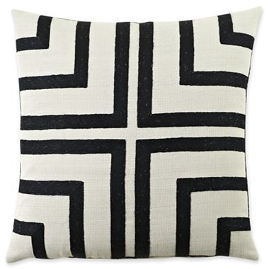 "jcp home™ Cruz 16"" Square Decorative Pillow - JCPenney"