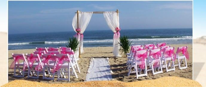 Ocean City Beach Wedding