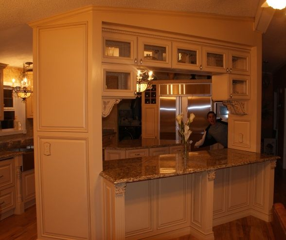 French Country Gourmet Kitchen Remodel In A Mobile Home