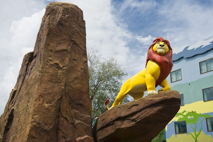First Look at The Lion King Wing at Disney's Art of Animation Resort