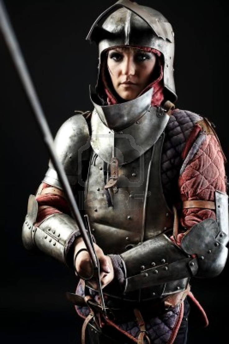 Woman in armour fucked naked scenes