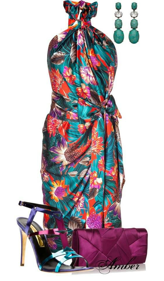 Tropical Cocktail Dresses 24