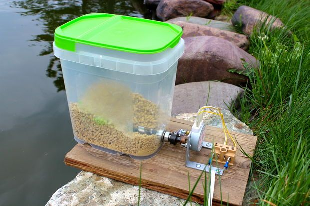 Picture Of Automatic Pet Feeder Cabin Pinterest