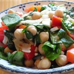 Espinacas con Garbanzos (Spinach with Garbanzo Beans) Allrecipes.com