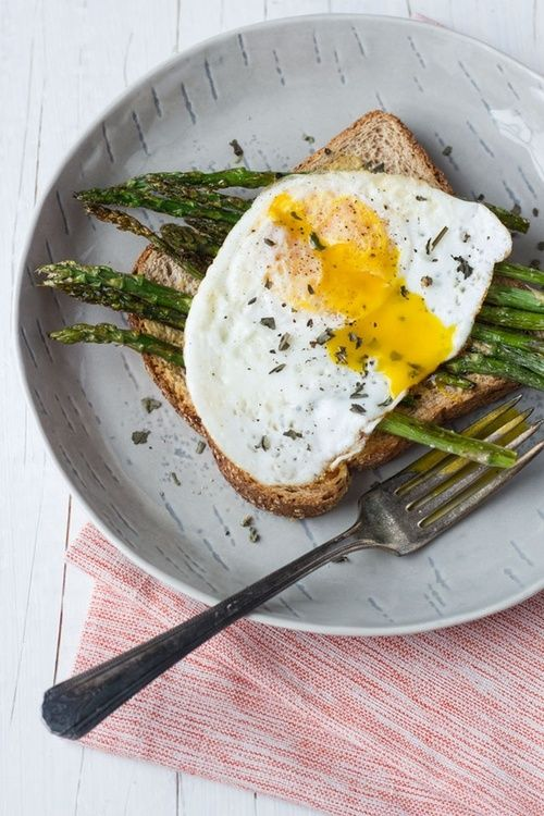 Asparagus Soup With Egg On Toast Recipes — Dishmaps