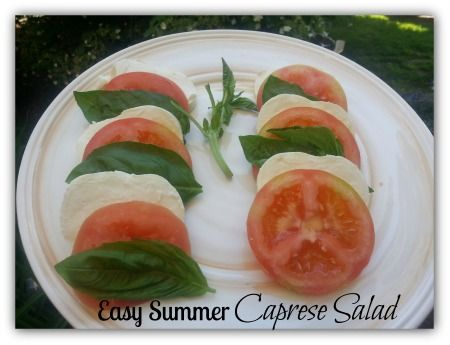 Easy Caprese Salad - Thrifty NW Mom
