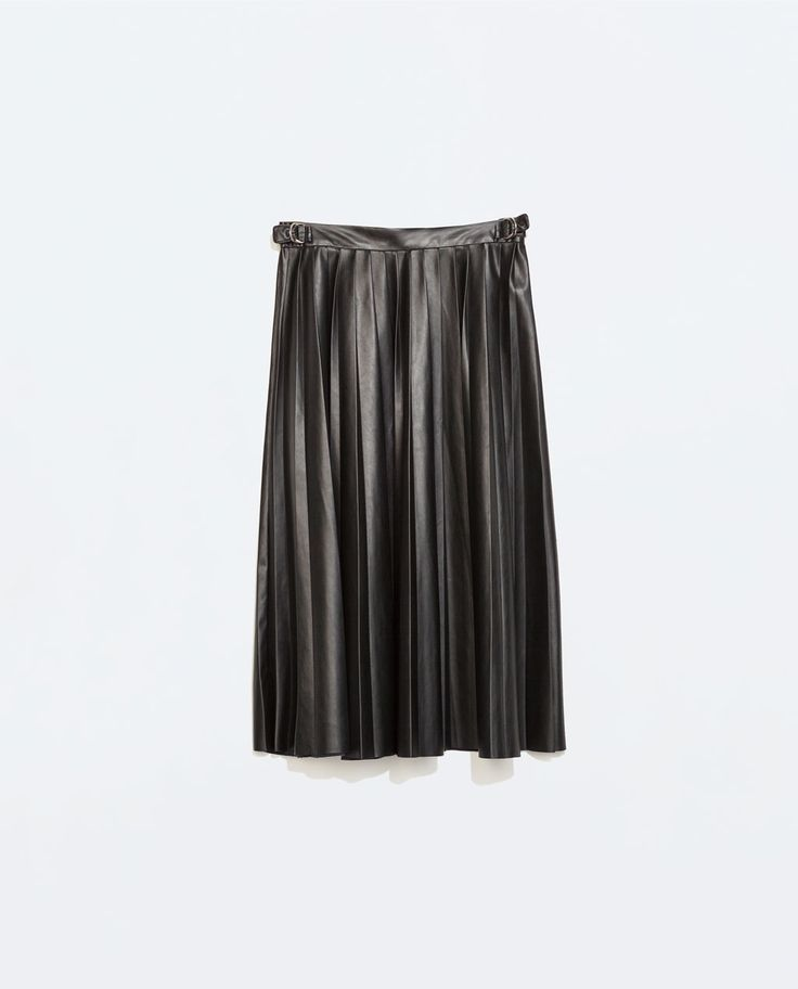Awesome faux leather skirt