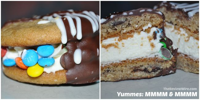 Yummés Mmmm & Mmmm: Two chocolate chip cookies stuffed with ...