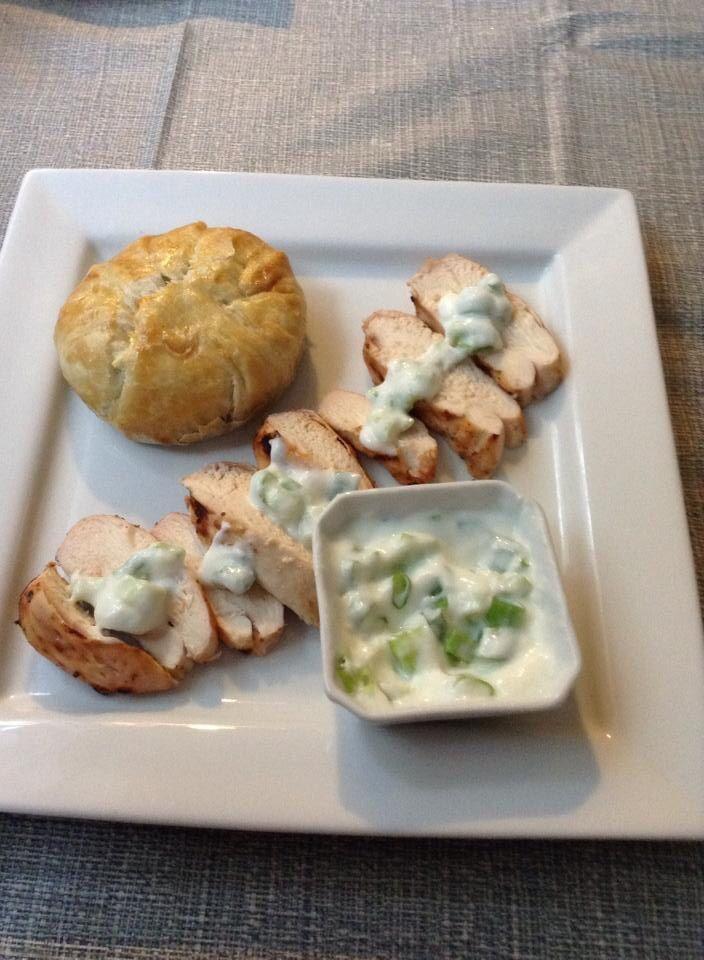 mushroom filled with roasted garlic jalapeño cream cheese baked ...