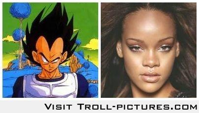 Funny Rihanna Forehead