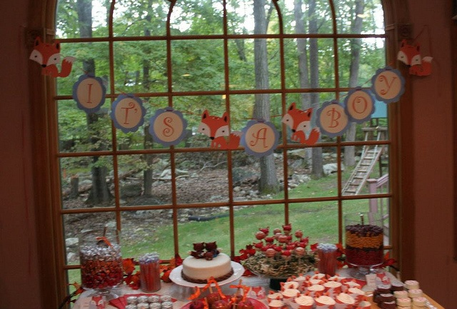 fox themed baby shower party ideas pinterest